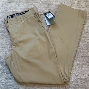 Under Armour golf pants straight fit 38/34 NWT